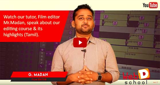 Film Editing Courses in Chennai AVID | FCP Course in chennai